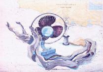 Still Life - Gouache on Chart Paper 72 x 110 cm 1989
